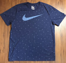 Mens Nike Dri Fit All Over Print Basketball Graphic Athletic Cut T Shirt XL NWOT