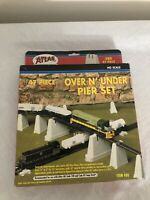 Atlas Over N Under Pier Set New in Box #80 Ho Scale 1/87