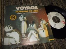 VOYAGE NOWHERE TO HIDE/MAGIC IN THE GROOVE 7'' 1982 ZAFIRO SPAIN