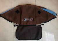 BOB Revolution Jogger Stroller Brown / Blue CANOPY - Cloth Only -  2004-10.