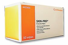 SKIN-PREP Protective Barrier Wipes by Smith & Nephew, 50 per box
