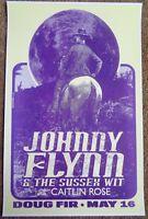 JOHNNY FLYNN 2011 Gig POSTER Portland Oregon Concert