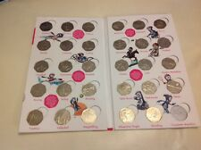 London 2012 50p Full Collection in Album WITHOUT COMPLETER