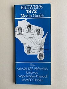 1972 Milwaukee Brewers Official Souvenir Media Guide