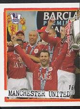 MERLIN CALCIO ADESIVO-KICK OFF 2007-08 - N. 119-Manchester United