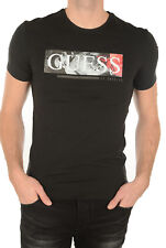 Tee shirt Guess manches courtes Homme M72I28 Noir