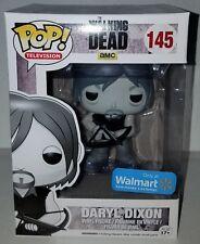Funko Pop! The Walking Dead Daryl Dixon 145 B&W Black & White Walmart Exclusive
