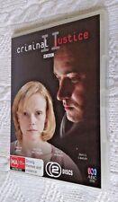 CRIMINAL JUSTICE II - BBC (DVD, 2–DISC SET) REGION-4, LIKE NEW, FREE POSTAGE