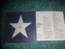 NEIL YOUNG - HAWKES & DOVES - LYRICS SHEET- EX CONDITION - IMPORT - REPRISE