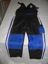 Sovra pantaloni moto POLYSTER CORDURA salopette tasche bretelle impermeabili