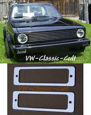 Chrom Keder Blinker Golf 1 Cabrio GTI 16V G60 VR6 Pirelli Weber GT