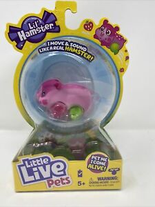 HOT Little Live Pets Lil' Hamster Strawbles - Interactive Toy Hamster - New 2021