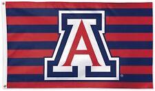 University of Arizona Wildcats Stars & Stripes Deluxe Grommet Flag Ncaa 3' x 5'