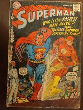 Superman #199 First Superman-Flash Race