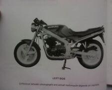 Suzuki GSX500E, GSX500 E, GSX 500 FACTORY Service repair, workshop manual / book