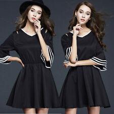 V Neck Casual Sheath Dresses for Women