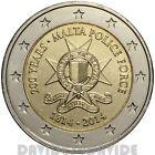 MALTA - 2 EURO COMMEMORATIVO 2014 - 200º delle Forze di Polizia Maltesi