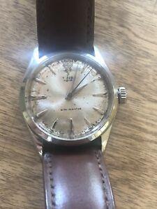 1950s Tudor big rose manual wind watch Rolex serviced nice watch as is