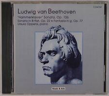 BEETHOVEN: Hammerklavier Sonata, Ursula Oppens MUSIC & ARTS CD NM