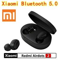 Für Xiaomi Bluetooth 5.0 Redmi Airdots 2 TWS Wireless Headset Stereo Bass & Mic❤