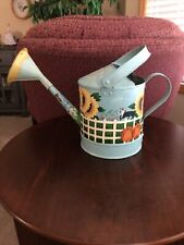 Hand Painted Metal Watering Can