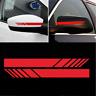 X2-Rétroviseur-Autocollant-Voiture-Bande-De-Course-Pour-Mercedes-Benz ROUGE
