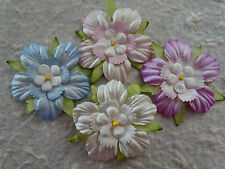 20 x 45mm Mulberry Paper FLOWERS MPFF41X Paper Crafts Scrapbooks Cardmaking