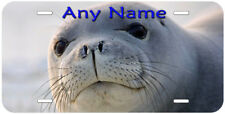 Seal Face Any Name Personalized Aluminum Novelty Car License Plate