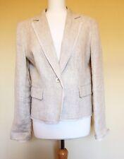 Gerard Darel Womens Ivory Cream Wedding Guest Jacket 42 Uk 14