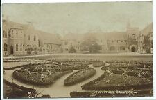 BRISTOL - FISHPONDS COLLEGE  1911  Real Photo Postcard