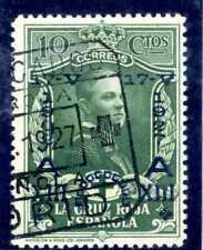 Sellos de España 1927 nº 352  XXV Aniver.Jura Constitucion Matasellado