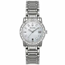 Bulova Quartz (Automatic) Silver Strap Wristwatches