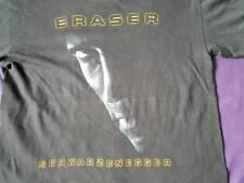 Vintage 90' Eraser Arnold Schwarzenegger Action Movies T-Shirt Sz Medium