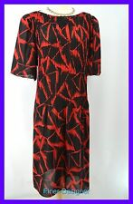 DVF Diane Von Furstenberg organ pleated stretch Dress light chiffon plus 20 VTG