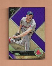 2017 TOPPS TRIPLE THREADS CHRIS SALE BASEBALL CARD - #64/340 - Red Sox