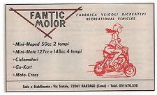 Pubblicità epoca MOTO FANTIC MOTOR BARZAGO COMO advert werbung publicitè reklame