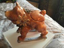 Blue Sky Clayworks Rocking Bear Trinket Box By Heather Goldmine