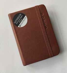 SOFT FEEL PREMIUM A7 RULED POCKET NOTEBOOK *BROWN* - HIGH QUALITY AND LUXURIOUS