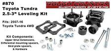 "Rough Country 2.5-3"" Leveling Lift Kit fits 07-16 Toyota Tundra 4WD #870"