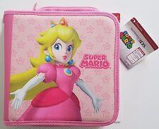 Magnifique Grande Housse Peach Nintendo DsXL,2Ds,3Ds,XL,New Etc Officiel Neuf