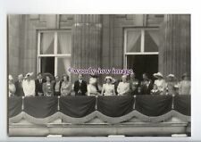 er0321 - The Queen & Royal Family on the Palace Balcony, 16/06/1990 - postcard