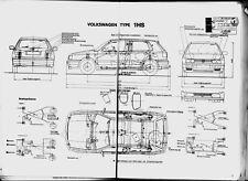 Typenschein   Vw  Golf  Type   1  HS   Bj  1995