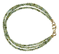 Turmalin grün 3-reihiges Armband Armkette Z454