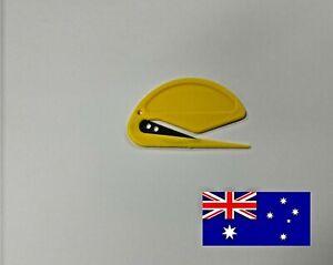 Letter Opener Cutter Open Office Envelope Knife Comfortable Plastic Handle Safe