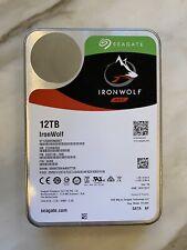 "Seagate ST12000VN0007 Ironwolf NAS 12TB 7200RPM 3.5"" Internal Hard Disk Drive"