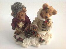 Boyds Bears & Friends - Edmund & Bailey...Gathering Holly - Retired
