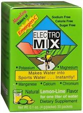 Emergen-C Electro Mix Packets Lemon-Lime Flavor 30 Each (Pack of 2)