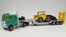 New Listing602 Majorette Super Movers Semi Truck Tractor Trailer Blues Loader Transport