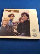 U2 October CD