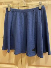 Bobo Choses Girls Blue Waffle Knit Skirt Size 8-9